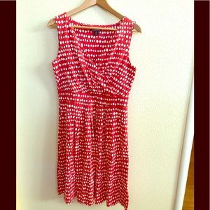 Lands' End polka dot dress (NWOT)